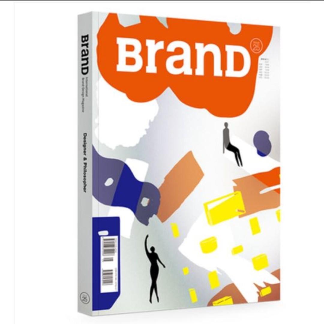 設計書 - BranD 第25期/設計師與哲學家 紙材、包裝、平面設計