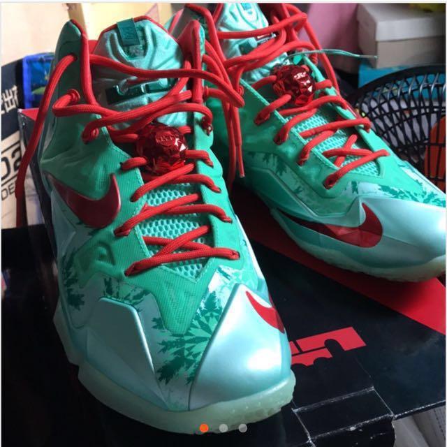 全新 NIKE 聖誕限定 籃球鞋 限量鞋 限量籃球鞋