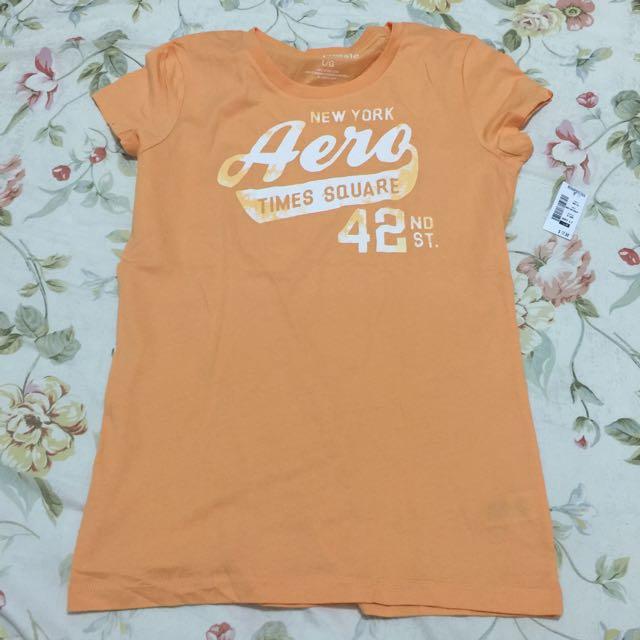 Aeropostale Shirt (orange)