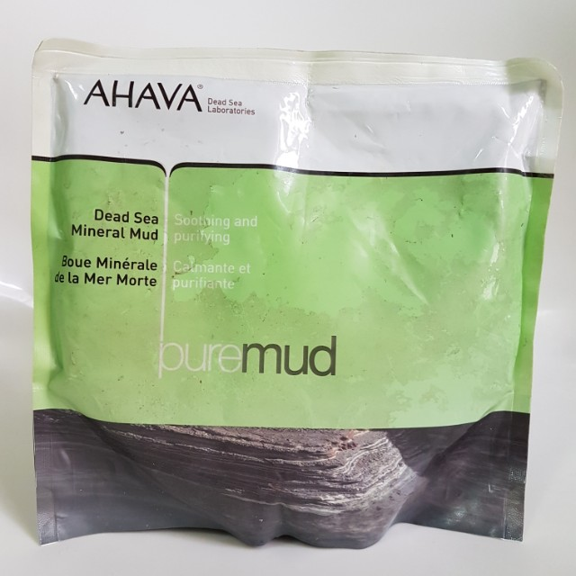Ahava Spa Dead Sea Mineral Pure Mud (Made in Israel, beli di German)