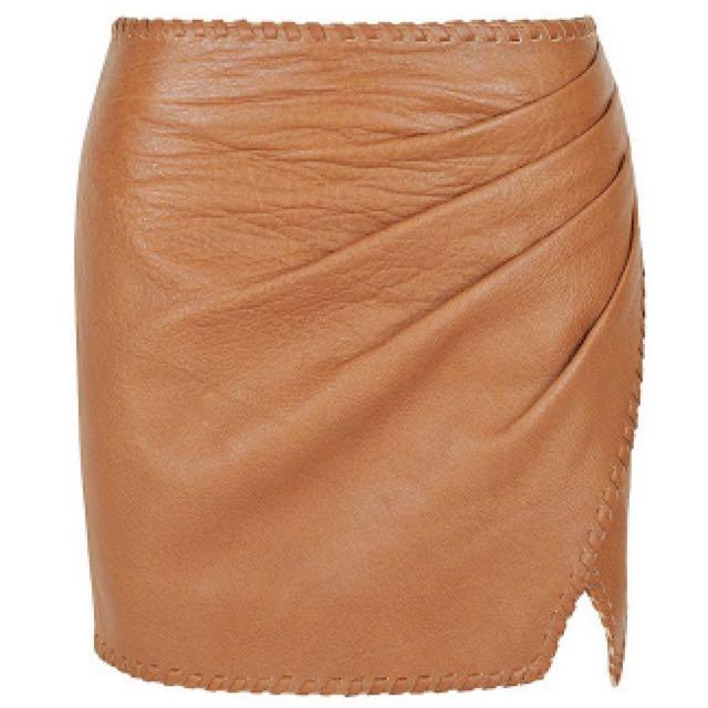 Aje Inca Mini Skirt Tan