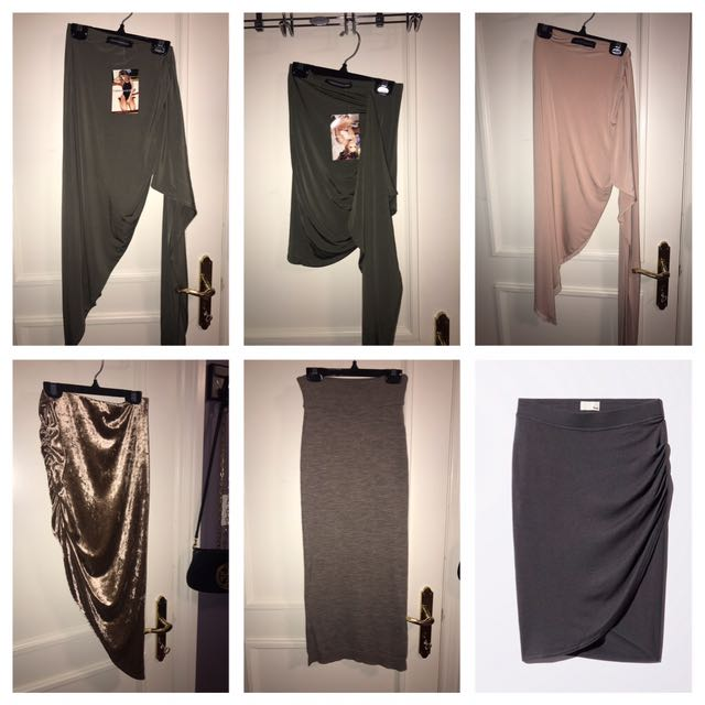 Aritzia Wilfred and Naked Wardrobe Skirts Size Small