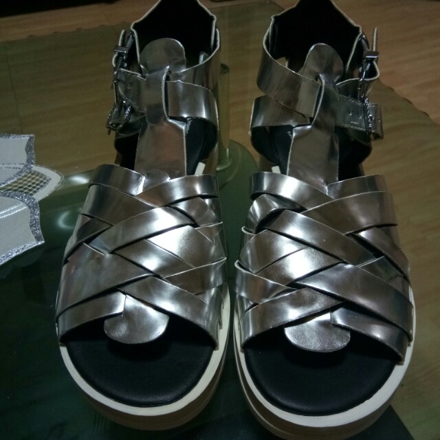 Authentic Circus Sandal in Silver