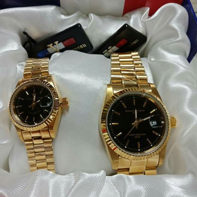 Authentic Valentino Couple Watch Luxury Watches On Carousell