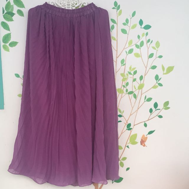 #awaltahun Purple Skirt