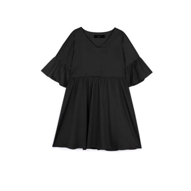 Babydoll Dress - Pomelo