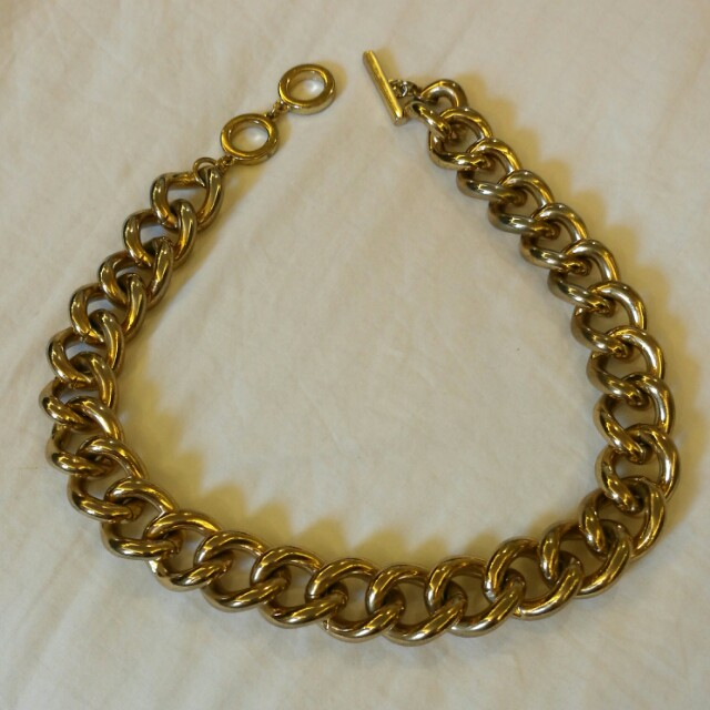 Banana Republic Gold Chain Necklace