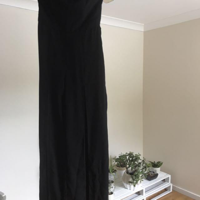 Bardot ebony jumpsuit