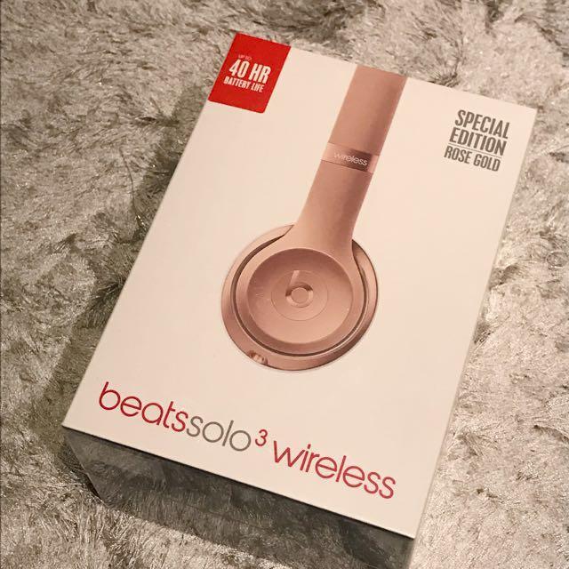 Beats Solo3 無線頭戴式藍牙耳機