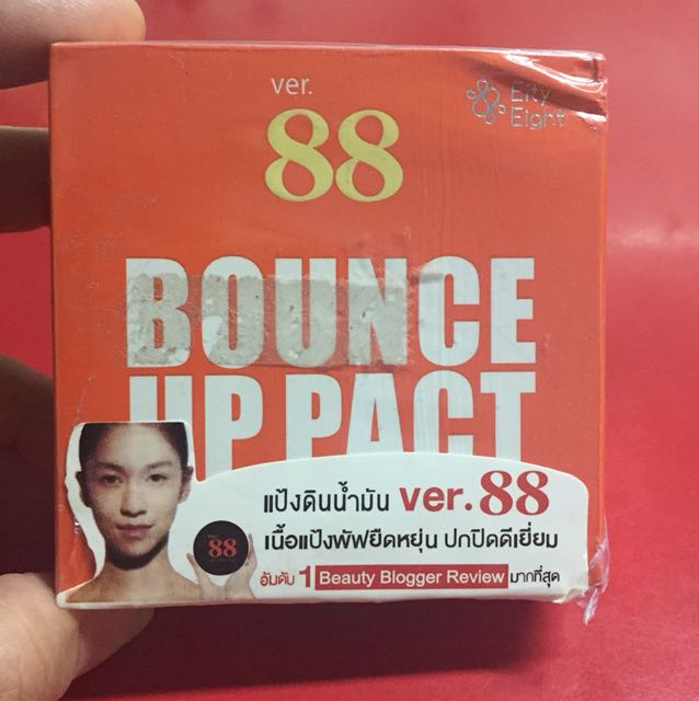 Bedak bounce up pact ver 88 Replika