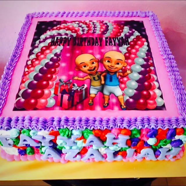 BIRTHDAY CAKES UPIN IPIN Food Drinks Baked Goods on Carousell