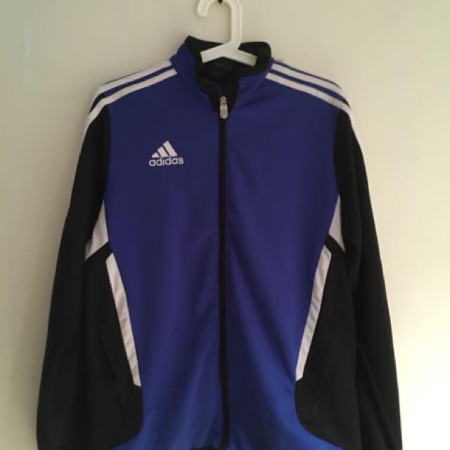 Blue Adidas Sweater