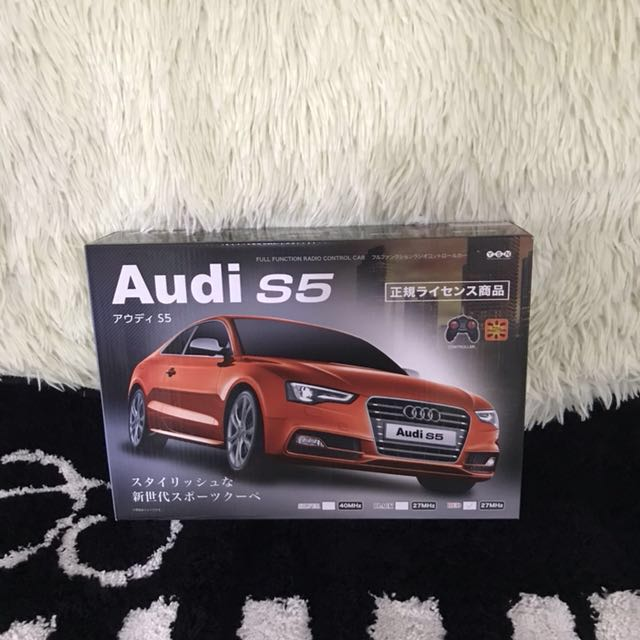 BN Sale Audi S Red Full Function Radio Control Car Toys - Audi car red