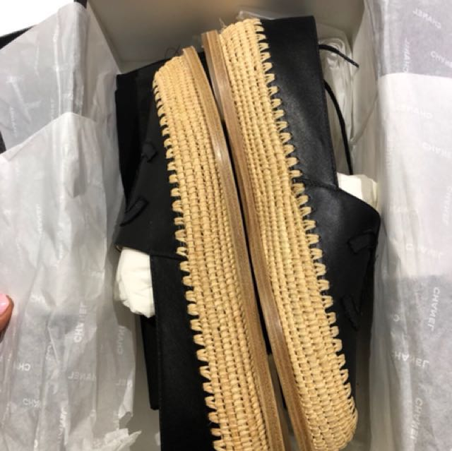 Brand New CHANEL Espadrilles 39
