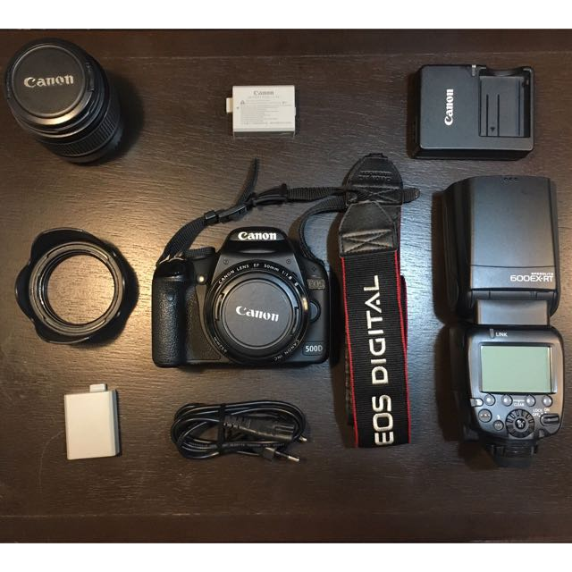 Canon 500D EOS for For Sale plus others