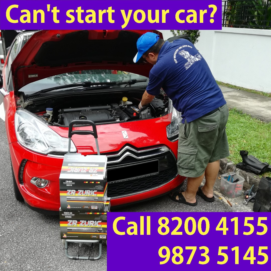 Car Battery Mobile Recovery Service