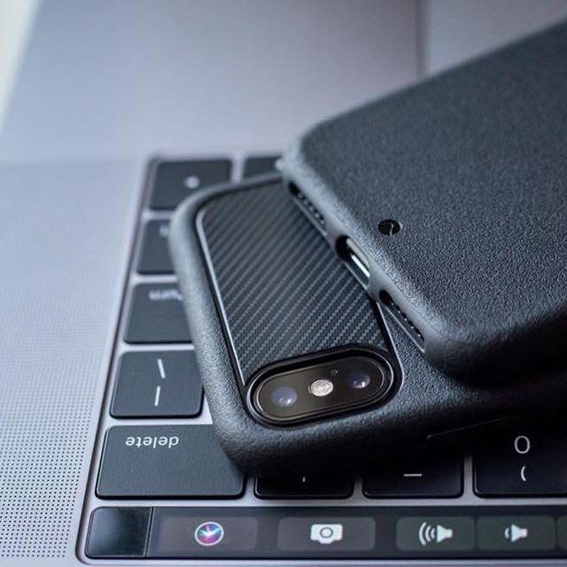reputable site a5ca5 25c06 Caudabe The Sheath for iPhone X - Premium Slim Case - Black