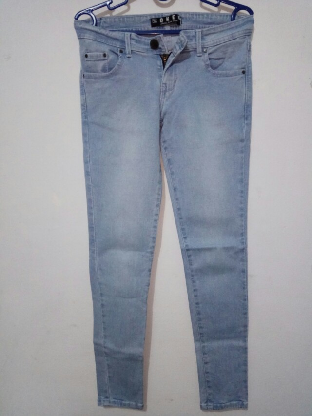 CKEY Jeans Blue Light #cintadiskon