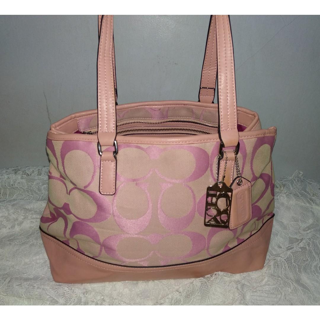 Coach Pink Bag