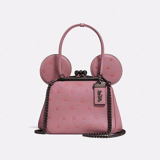 Coach X Disney Minnie 粉紅包包