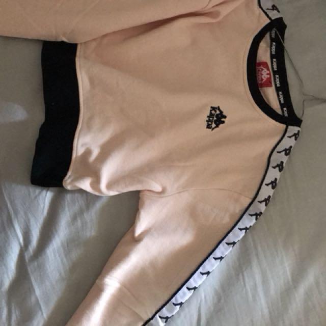 Crop Kappa hoodie