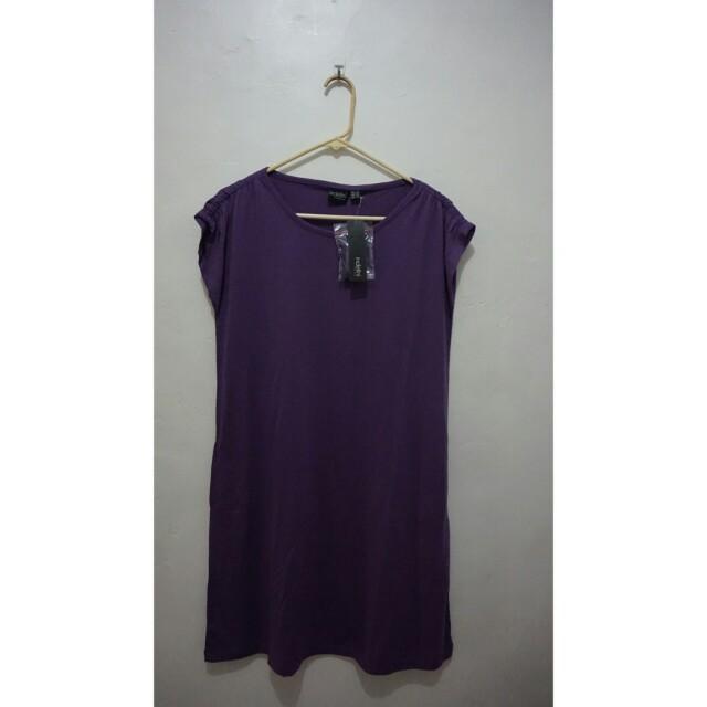 Dacey purple dress