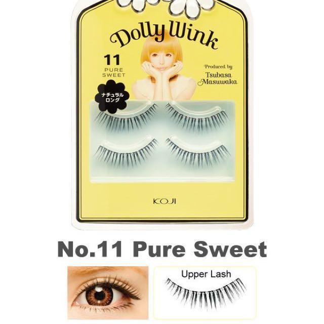 Dolly Wink False Eyelashes- No.11/2 pairs