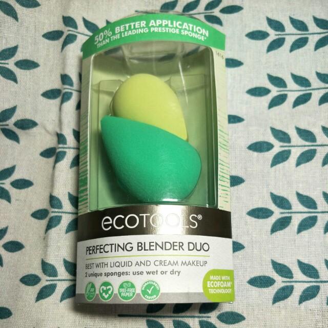 在徒ecotools:Perfecting Blender Duo美妝蛋*2