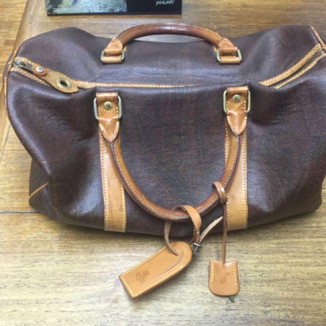 Etro Milano Duffle Bag