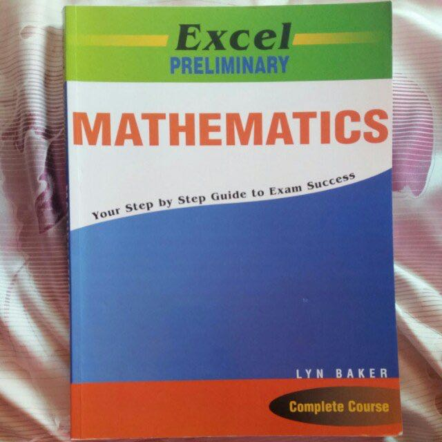 Excel Preliminary Maths