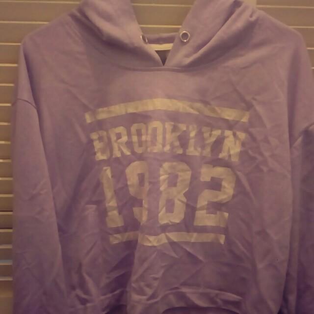 Factory crop hoodie