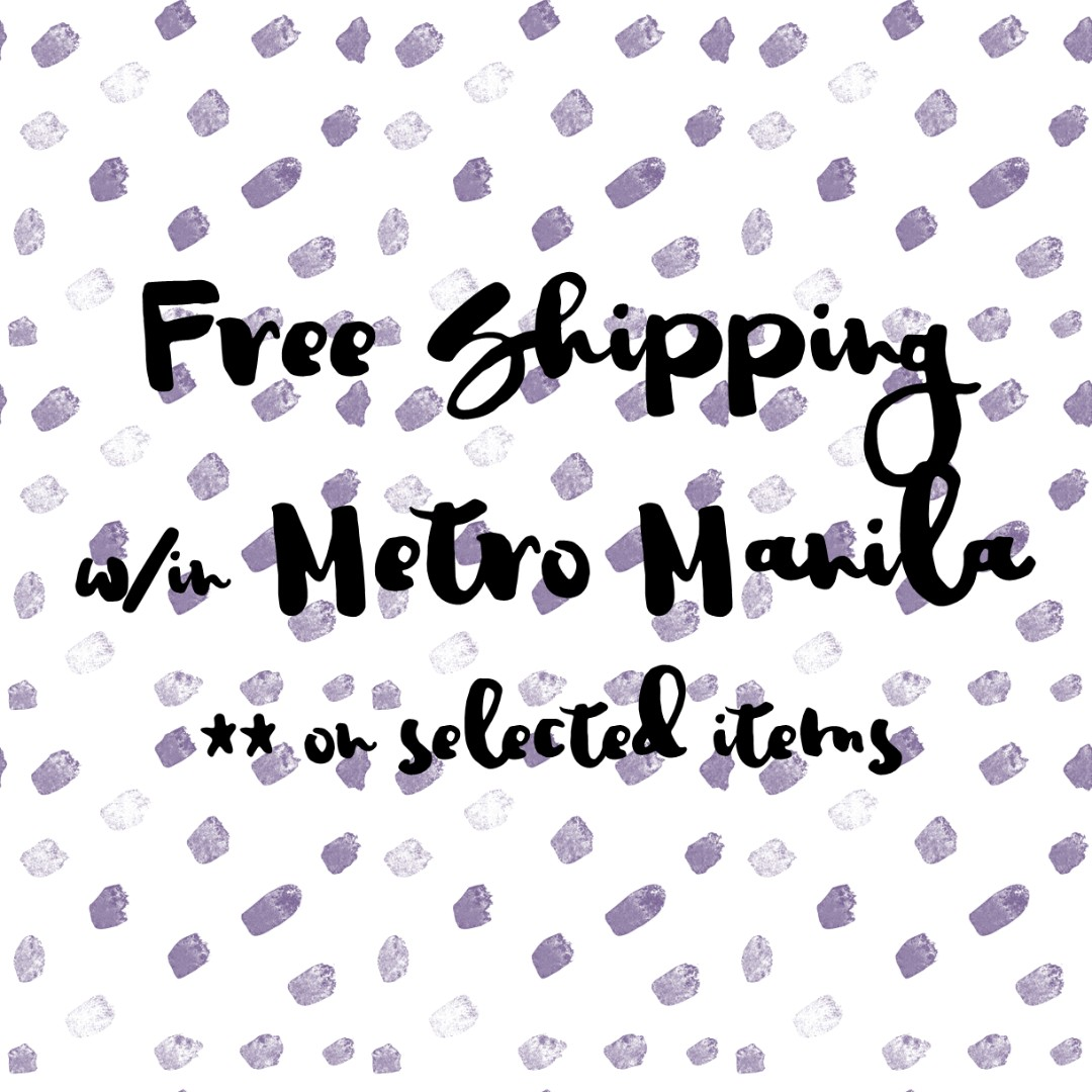 💋FREE SHIPPING within Metro Manila💋