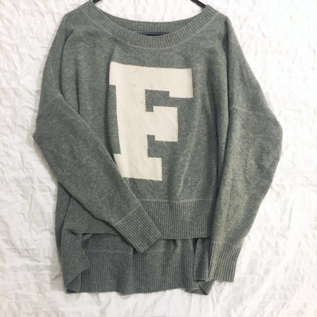 French connection wool wooly jumper size small S