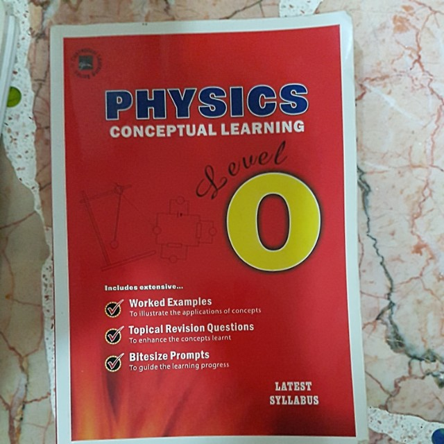 GCE O Level Pure Physics Past Years Exam Papers Books