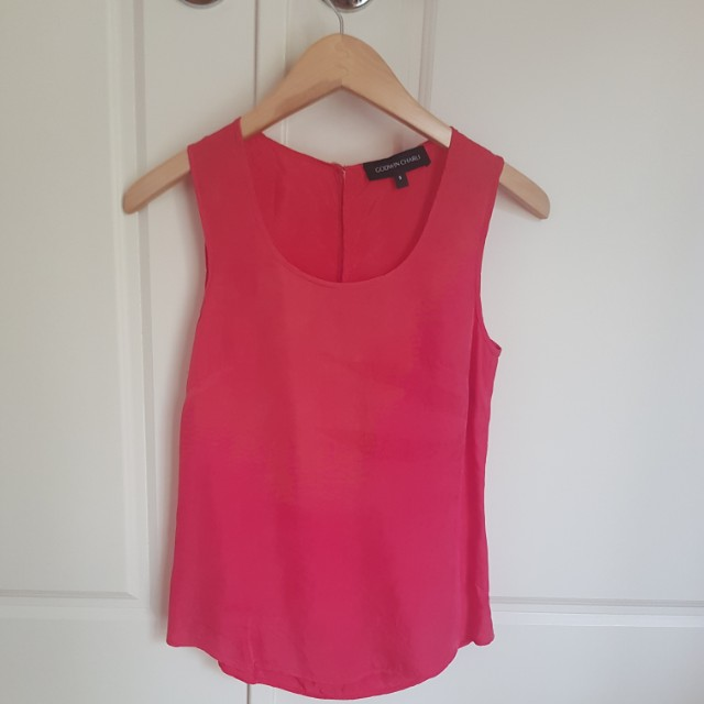 GODWIN CHARLI sleeveless top size S