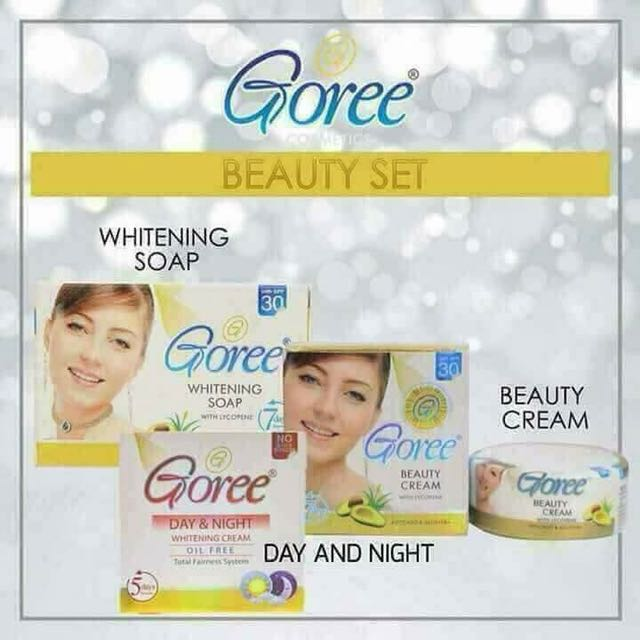 GOREE WHITENING PRODUCTS
