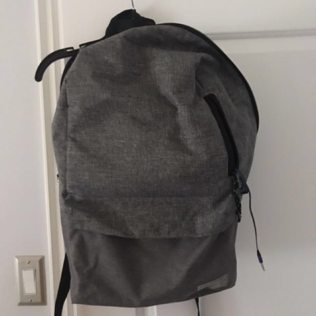 HEX Grey backpack