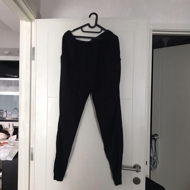 H&M celana pensil / pants hitam