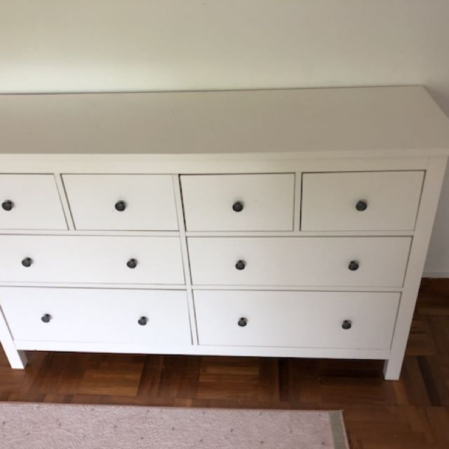 Ikea Hemnes Sideboard Furniture Shelves Drawers On Carousell