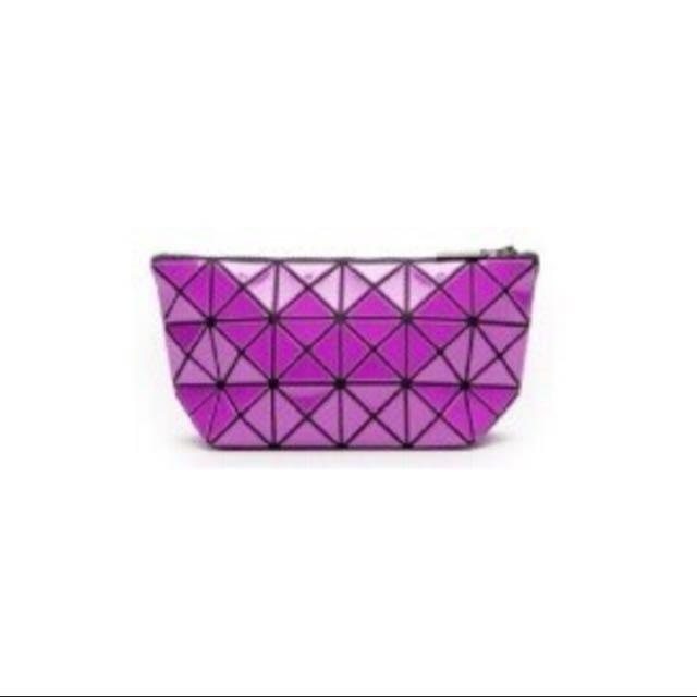 ISSEY MIYAKE BAOBAO Bag 3x6 桃紅 化妝包