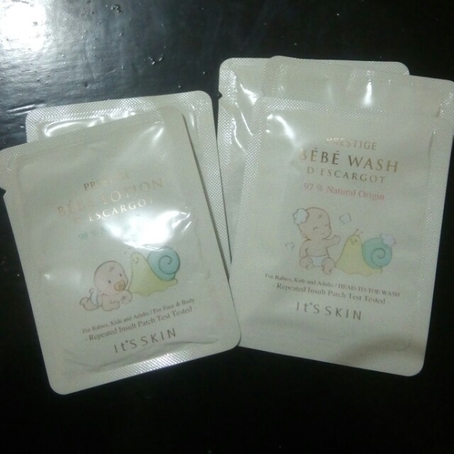 It's Skin Prestige Bébé Lotion and Bébé Wash D' Escargot (Bundle)