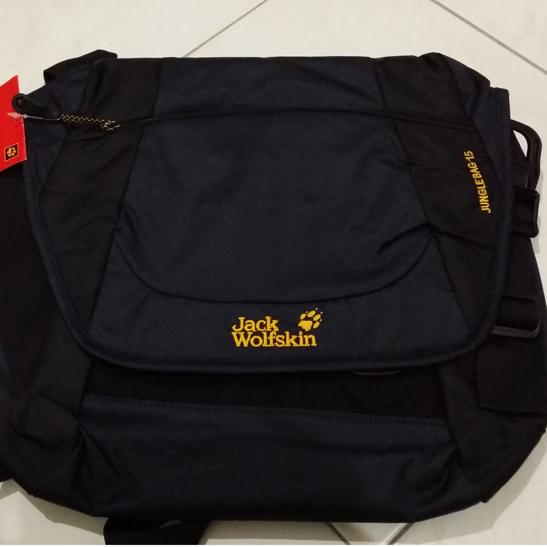 d6cee096c6 JACK WOLFSKIN JUNGLE BAG, Men's Fashion, Bags & Wallets on Carousell