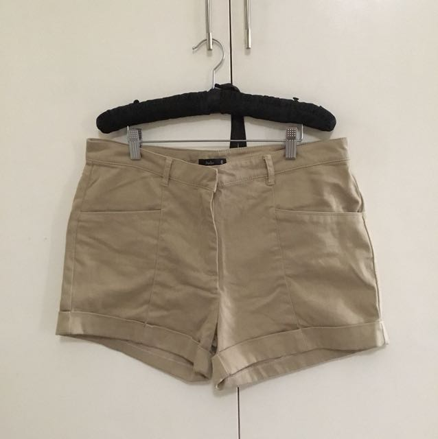 Khaki Papaya shorts