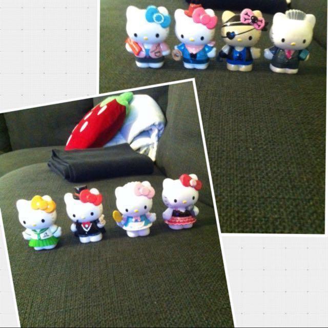 Kitty玩具擺設公仔療癒商品小物