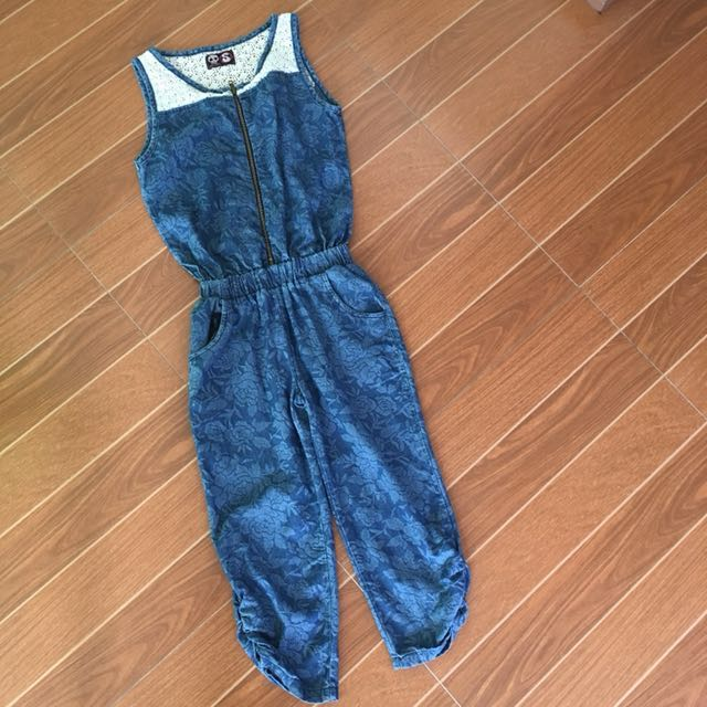 Knee Length Jumpsuit