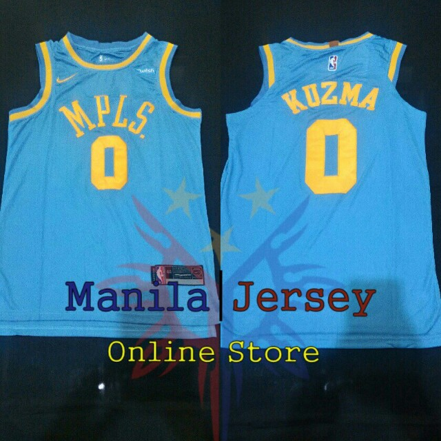 new concept f05f1 7b82d Kyle Kuzma Lakers Jersey on Carousell