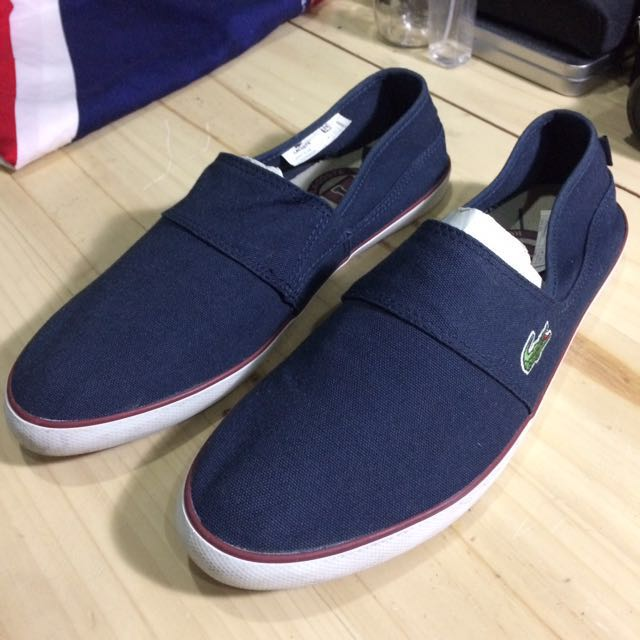 Lacoste Slip Ons  (Inclusive of shipping fee)