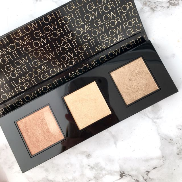Lancôme GLOW FOR IT! Palette ✨ 03 Golden Gleam