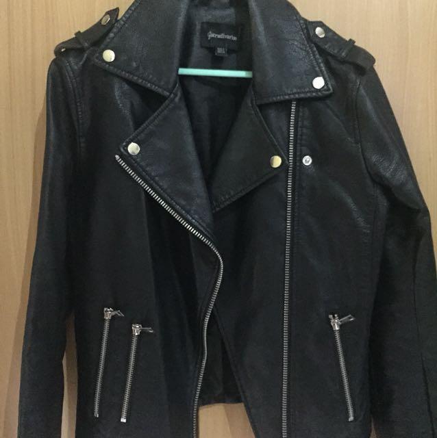 Leather Jacket Stradivarius