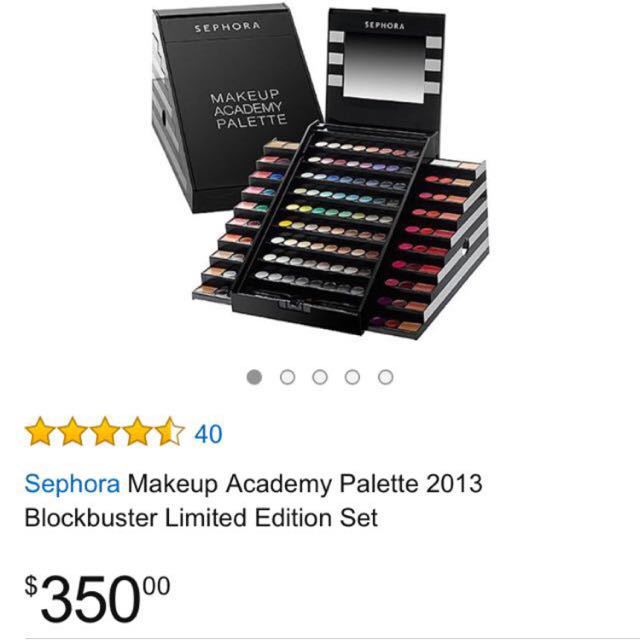 LIMITED EDITION SEPHORA MAKE UP ACADEMY PALETTE